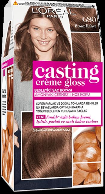 Casting Creme Gloss Yari Kalici Sac Boyasi Casting Creme Gloss 680